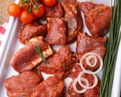 Шашлык и маринованное мясо
