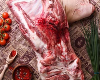 Лопатка свиная крупнокусковая часть